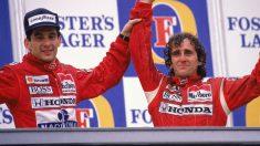 Alain Prost considera que como él no hay ningún piloto actual, considerando que Verstappen sí es como Senna. (Getty)