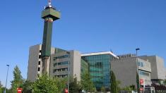 Los estudios de TeleMadrid, ubicados en la Ciudad de la Imagen.