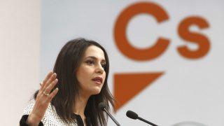 La portavoz de Ciudadanos, Inés Arrimadas. (Foto: Efe)