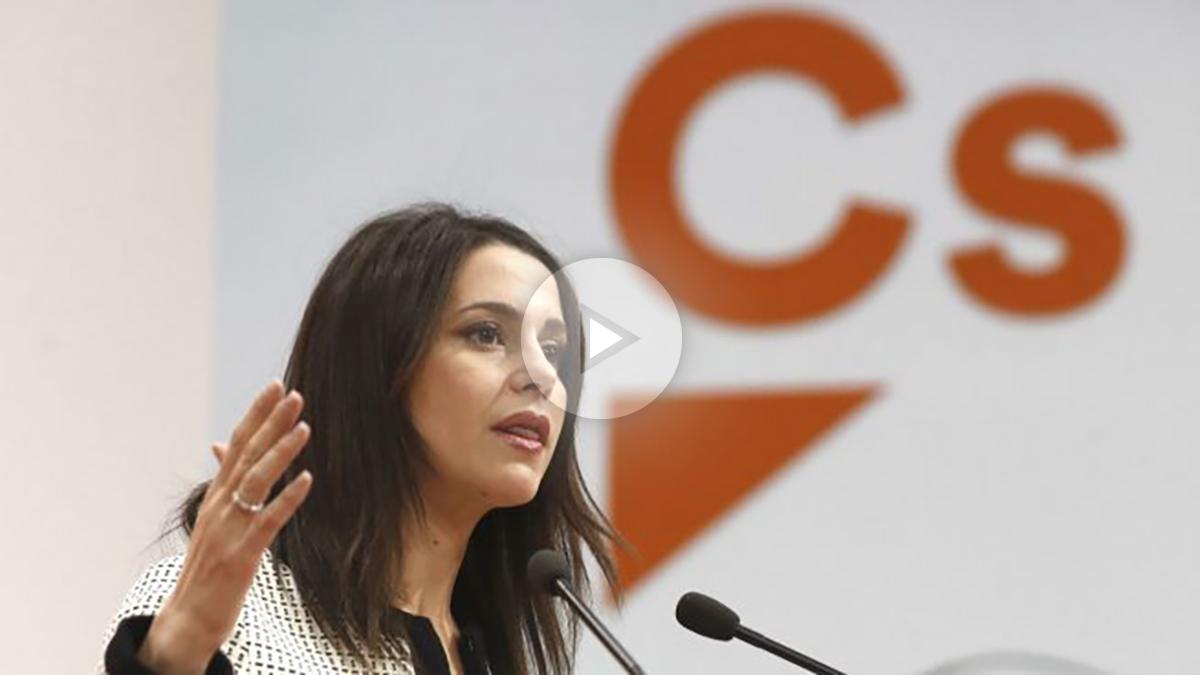 La nueva portavoz de Ciudadanos, Inés Arrimadas (Foto: Efe)