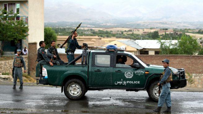 Policía-Afganistán