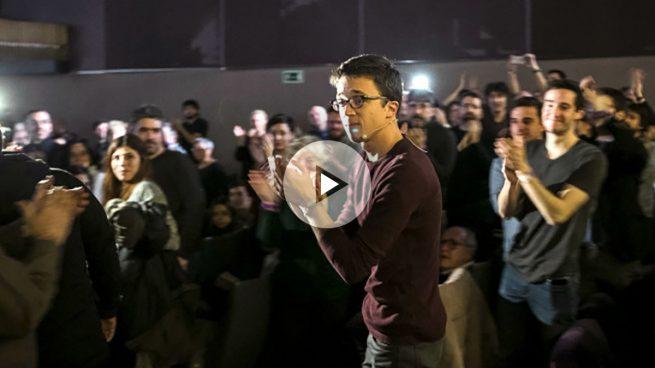 Errejón pide no distraer el debate en Podemos con el enfrentamiento de caras