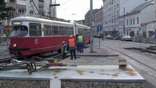 Barrio de Floridsdorf, en Viena, donde se ha detenido a 22 chechenos armados.