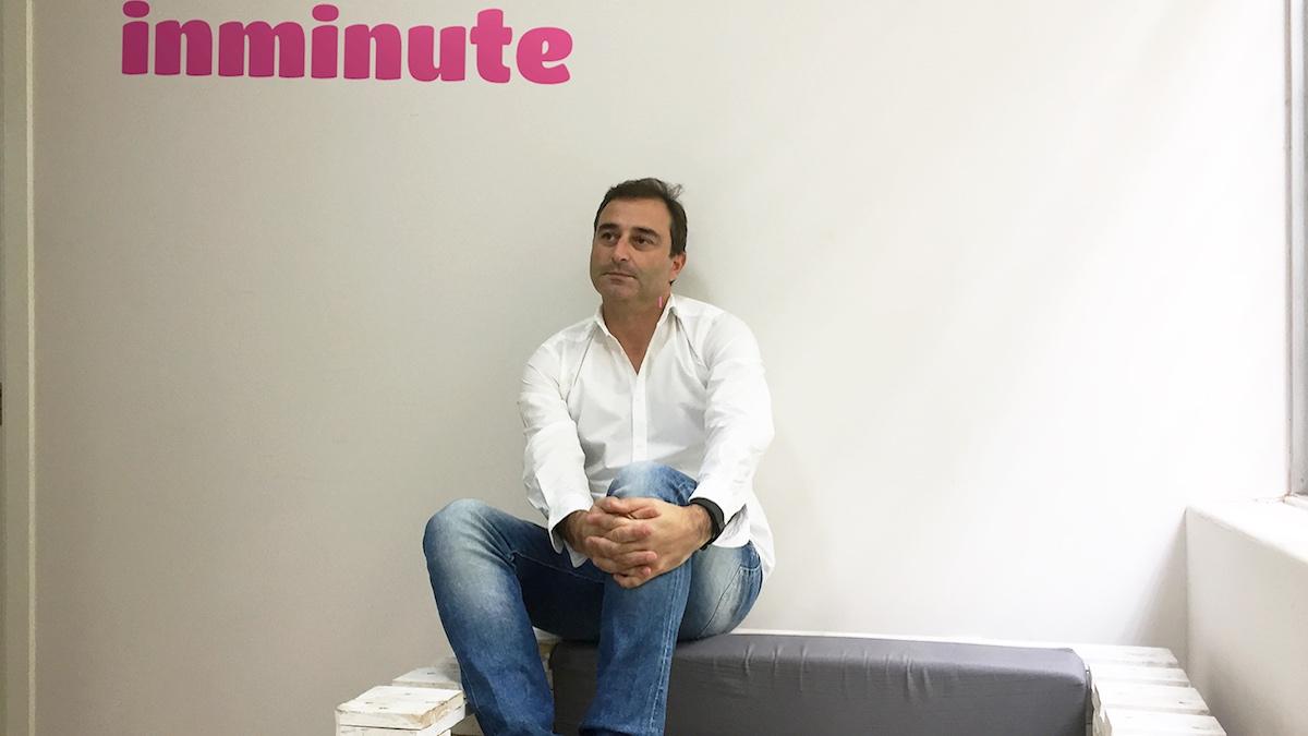 El CEO de Inminute, Luis Sanz.
