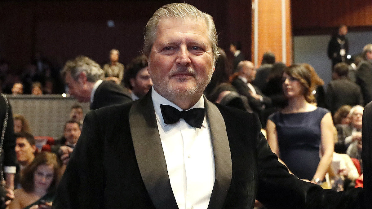 El ministro de Cultura, Íñigo Méndez de Vigo, en la platea de la gala de los Goya. (EFE)