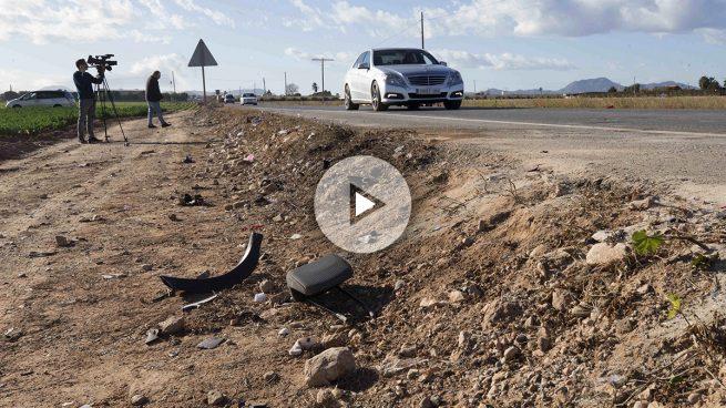 Mueren cinco jóvenes en un accidente de tráfico en Cartagena