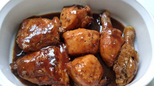 Pollo y miel