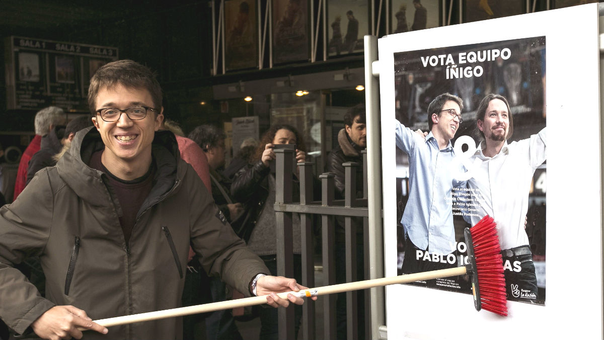 El número dos de Podemos, Íñigo Errejón (Foto: Efe)