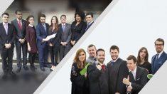 Candidaturas a liderar la Agrupación de Jóvenes Abogados de Madrid del ICAM.