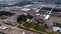Vista general de la fábrica de Volvo en la ciudad sueca de Goteborg.