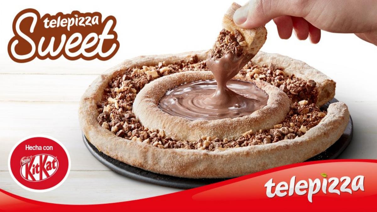 Telepizza Sweet (Foto: Telepizza).