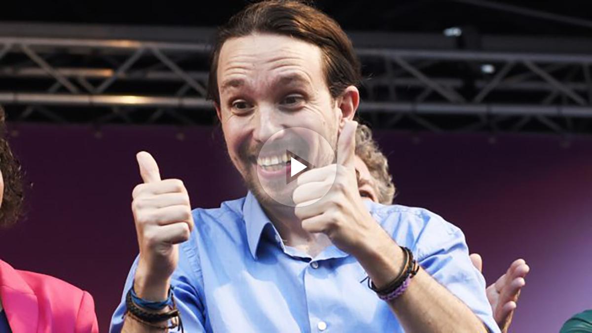 Pablo Iglesias. (Foto: AFP)