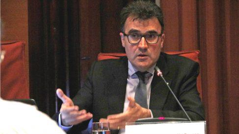 Lluís Salvadó, ex secretario de Hacienda de la Generalitat de Cataluña.