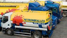 Uno de los camiones de distribución de Petromiralles (Foto: Petromiralles)