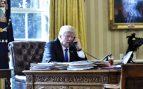 Trump llama a Merkel para desearle suerte en las elecciones de este domingo