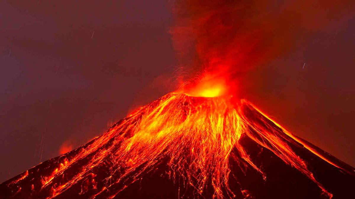 Las 5 erupciones volcánicas más grandes de la historia