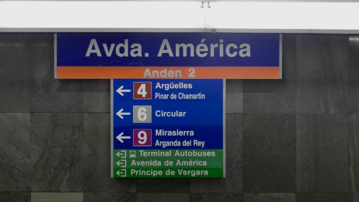 Estación de Avenida de América. (Wikimedia)