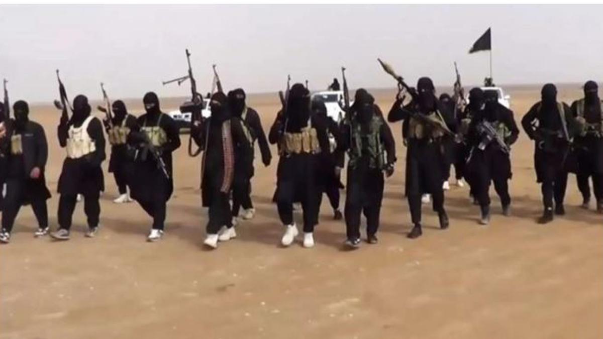 Terroristas del Estado Islámico.