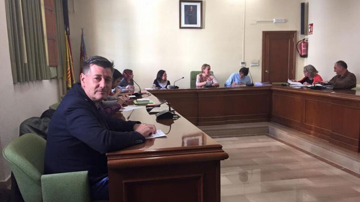 El ex portavoz de C's en la Diputación de Valencia, José Enrique Aguar (Foto: Twitter)