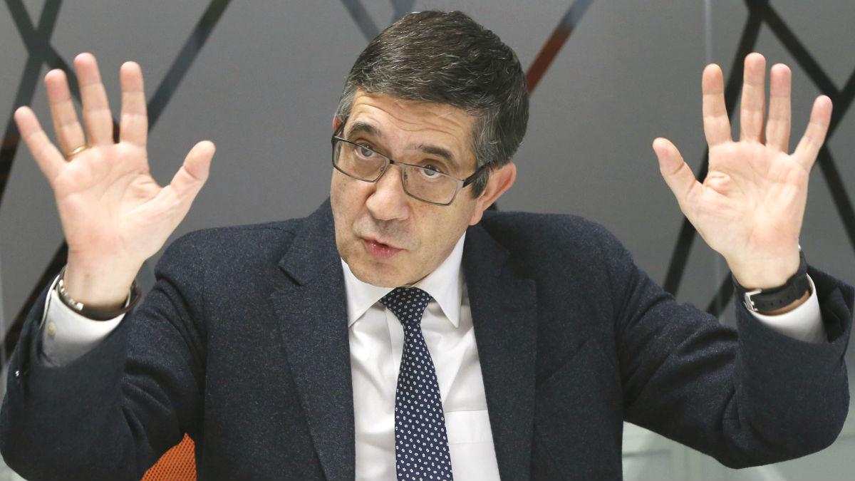 El exlehendakari y aspirante a secretario general del PSOE Patxi López (Foto: Efe)