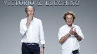Los diseñadores Victorio y Lucchino. Foto: Agencias
