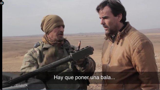 Más de 115.000 personas siguieron en directo el reportaje 'Españoles contra el Daesh'