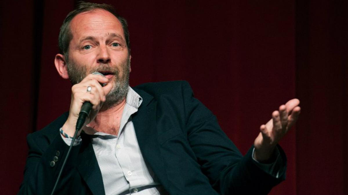 El director francés Etienne Comar presenta en Berlín su último trabajo 'Django'. Foto: AFP
