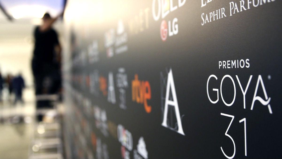 Cartel de los premios Goya (Foto: Efe).