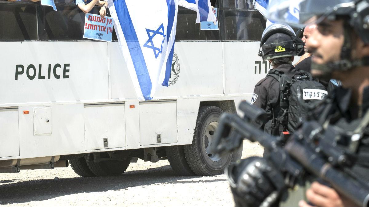 Policías de Israel (Foto: AFP).