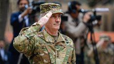 El comandante de las tropas de EEUU en Afganistán, John Nicholson.
