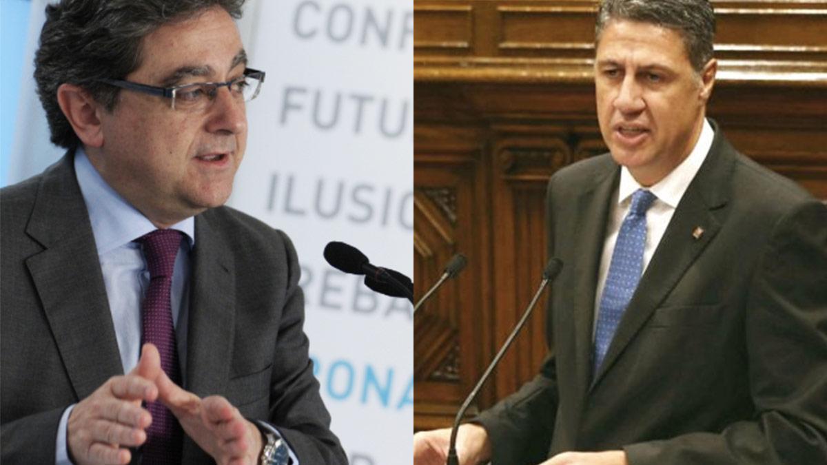 Enric Millo y Xavier García Albiol. (Foto: OKD)