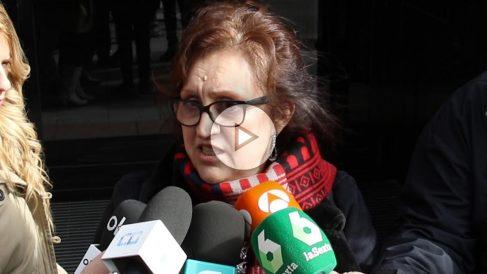 Miembro de Podemos en Extremadura. (Foto: Patricia García)