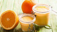 Receta de Natillas de naranja
