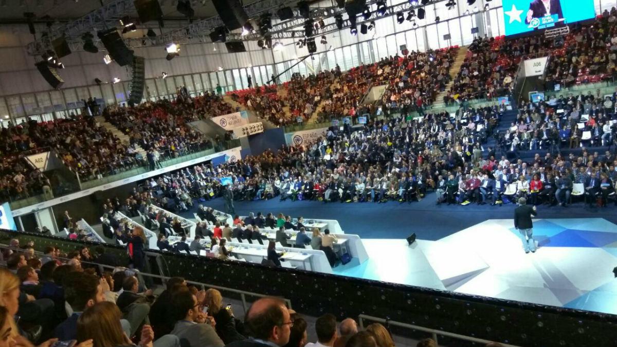 Congreso PP. (PP de Madrid Alberto Cuéllar).