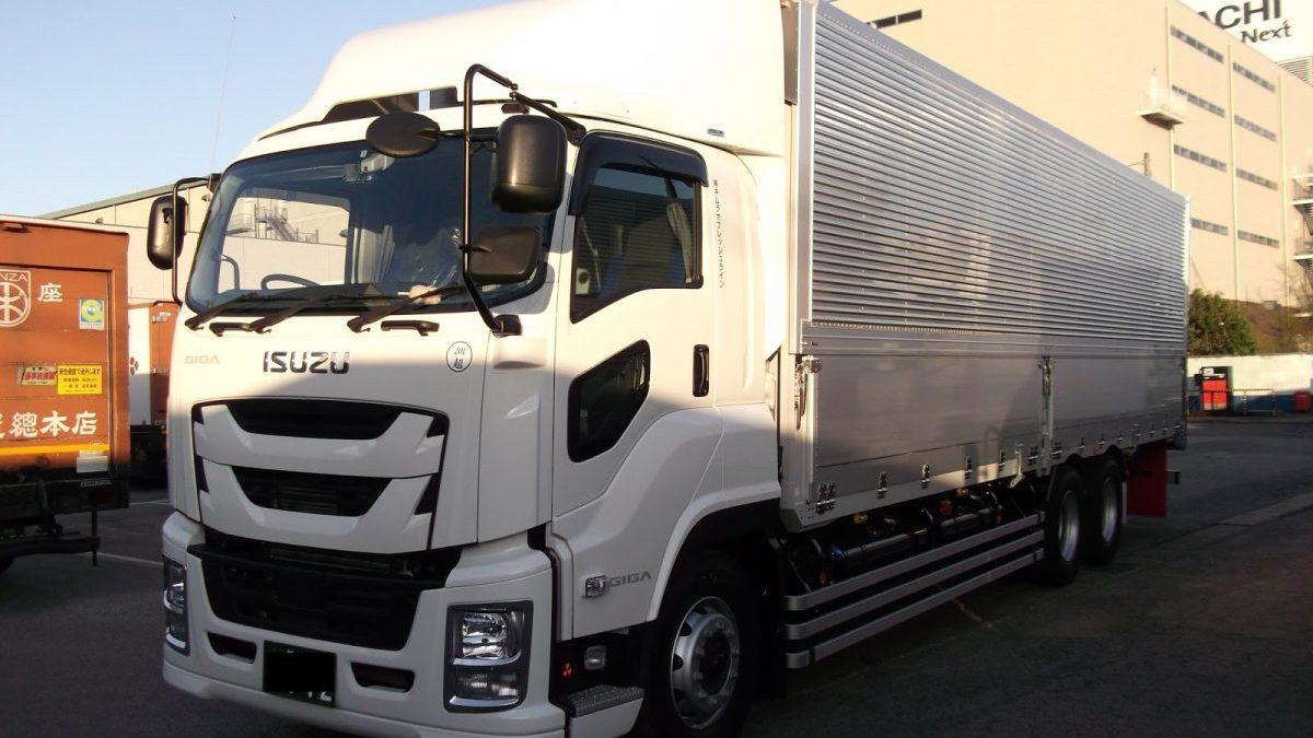Imagen de un camión estacionado.