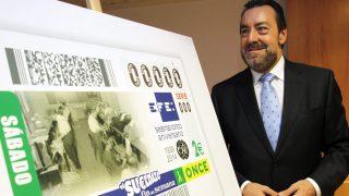 El presidente de la ONCE, Miguel Carballeda, en una foto de archivo. (Fuente: EFE)