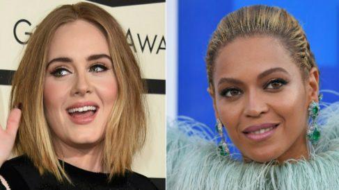 Adele y Beyoncé compiten en las principales categorías de los Grammy 2017. Foto: AFP