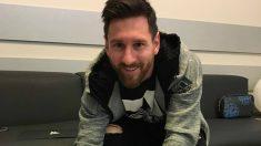 Messi renueva con Adidas.