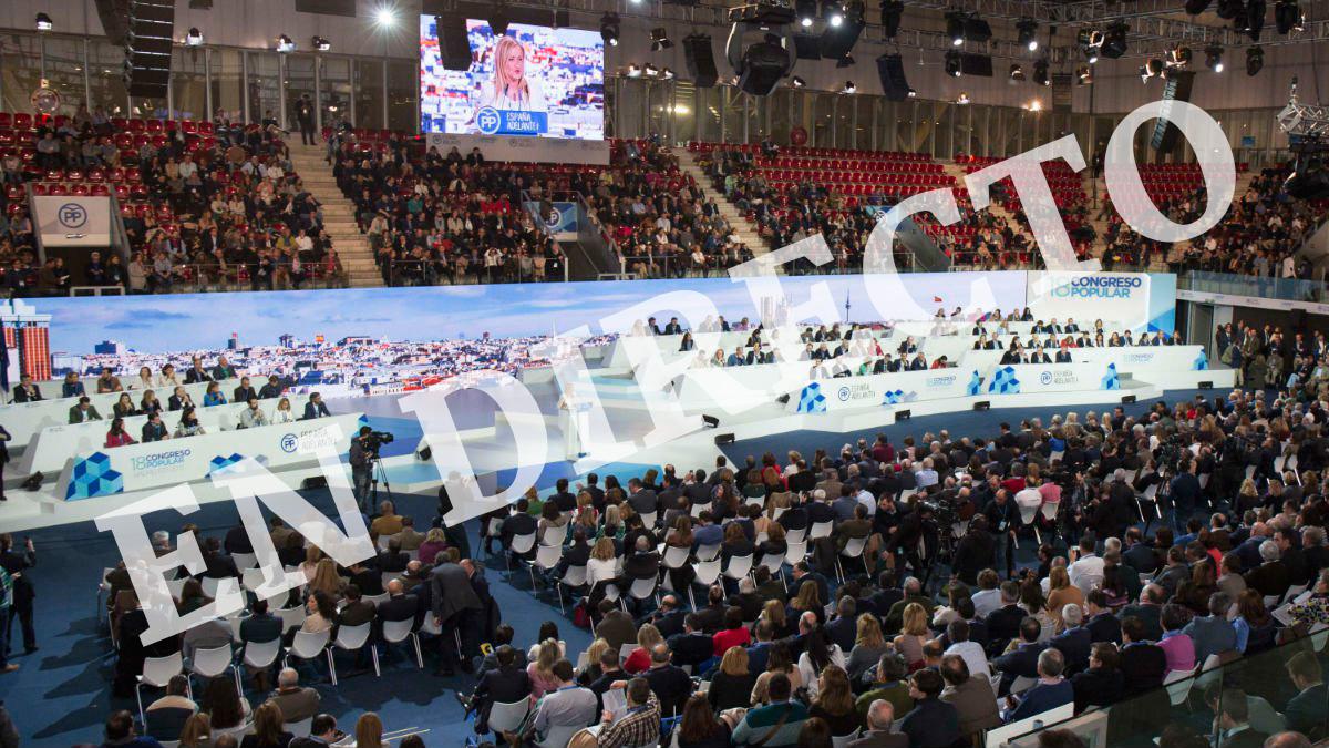 En directo: el XVIII Congreso del Partido Popular