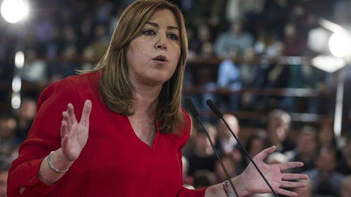 Susana Díaz en una reciente imagen (Foto: Efe).