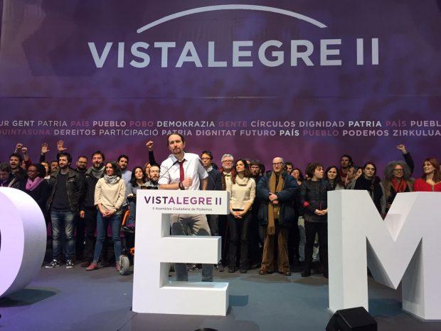 El nuevo Consejo Ciudadano Estatal de Podemos tras Vistalegre II