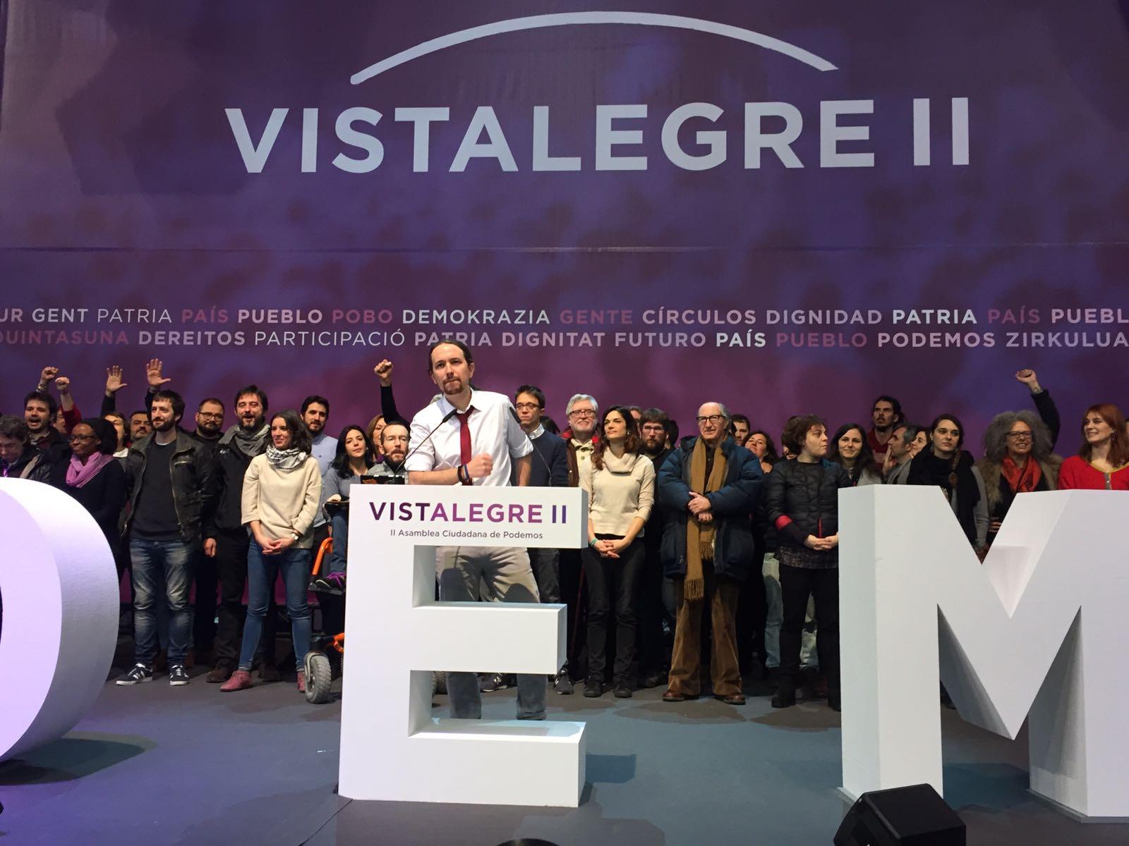 El Consejo Ciudadano Estatal de Podemos tras Vistalegre II.