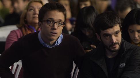 Íñigo Errejón y Pablo Bustinduy. (Foto: FK)