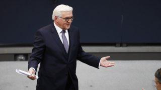 Frank-Walter Steinmaier, nuevo presidente de Alemania (Foto: AFP)