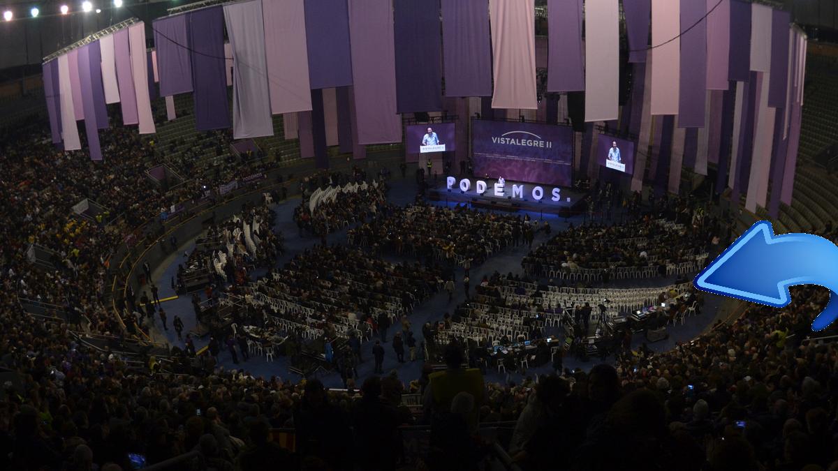 Tribuna de invitados a lo largo de toda la asamblea. (Foto: Flickr)