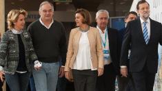 Esperanza Aguirre en un Congreso Nacional del PP. (Foto: PP)