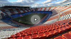 Estadio Vicente Calderón. (Getty)