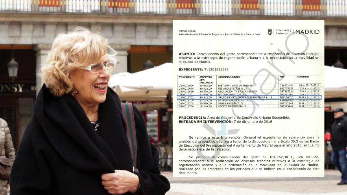La empresa Gea 21 S.L. ya ha recibido 141.000 euros en esta legislatura. (Foto: Madrid)