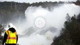 Presa de Oroville, en California, cerca del colapso (Foto: AFP)