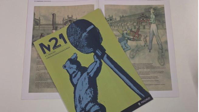 Carmena lanza su revista 'M21': es mensual, en papel y los madrileños pagan los 78.000€ que cuesta
